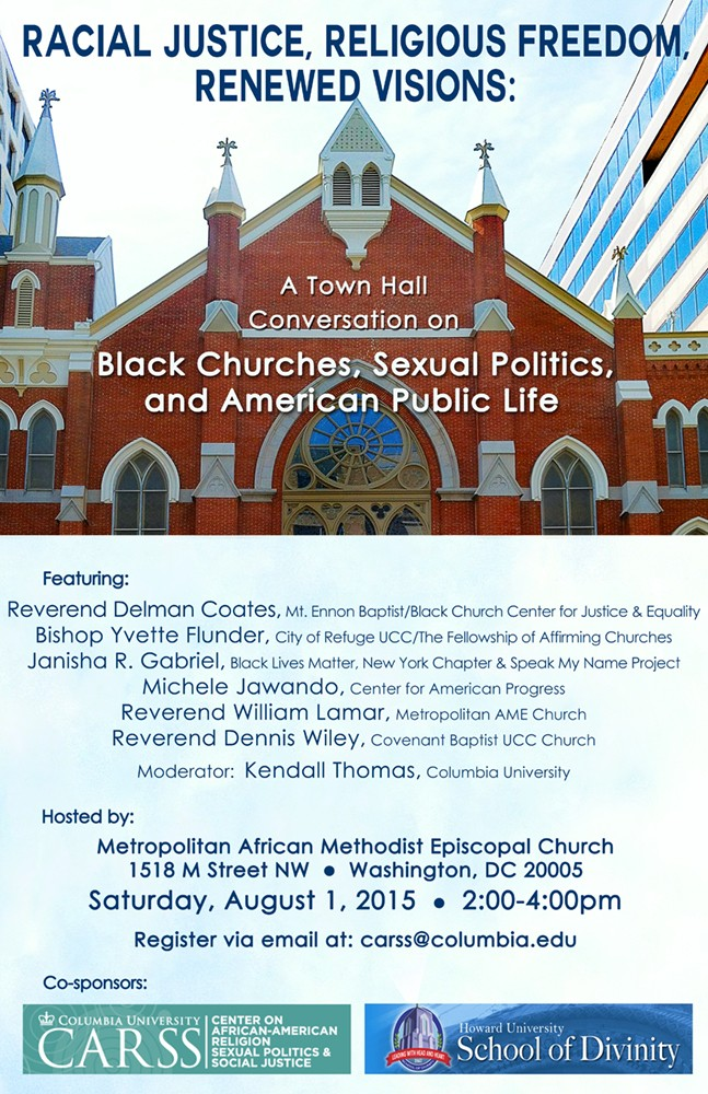 Racial Justice, Religious Freedom, Renewed Visions Poster